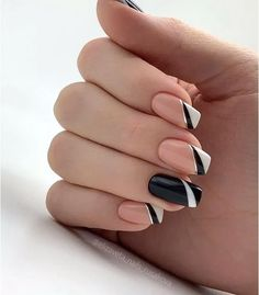 50 Beautiful Nail Art Designs & Ideas Nails have for long been a vital measurement of beauty and French Nail Designs, Beautiful Nail Designs, Cute Nail Designs, Cute Acrylic Nails, Cute Nails, Pretty Nails, French Nails, Hair And Nails, My Nails