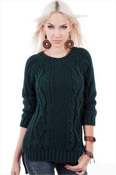 вязание пуловера с аранами спицами с удлиненной спинкой: 20 тыс изображений…