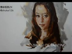 Oil Painting Portrait Tutorial - YouTube