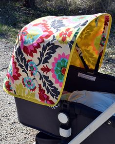Bugaboo sun canopy. Bugaboo Cameleon cover. by NiKABabyBoutique