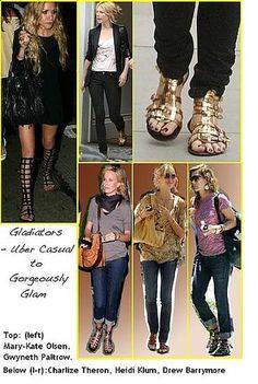 Knee high gladiator boots *trend alert* http://www.forevergrace.org/trend-alert-gladiators/