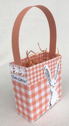 Gartenglück, Ostern Paper Shopping Bag, Picnic, Container, Basket, Easter, Picnics, Canisters, Hamper