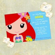 Invitación para princesas