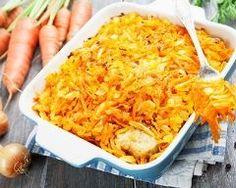 Gratin de poisson aux carottes
