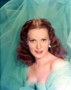 Maureen Ohara, 1940s Photograph  - Maureen Ohara, 1940s Fine Art Print