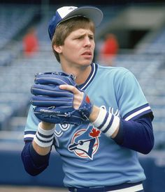 Danny Ainge playing for the Blue Jays