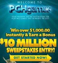PCH Games Instant Win | *PCH VIP *THATS