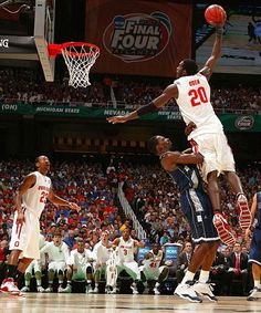 Greg Oden - 2007 Final Four. Wish he was still this good and no injuries.  Basketball ... df75864d0