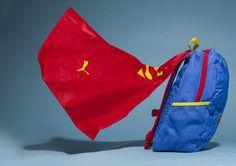 Puma blue Superman Cape bag