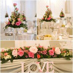 Aranjamente nunta Pastel, Table Decorations, Home Decor, Cake, Decoration Home, Room Decor, Home Interior Design, Crayon Art, Dinner Table Decorations