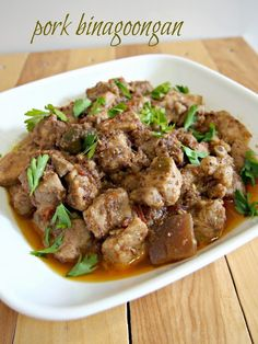 Last week I was enticed to cook Pork Binagoongan after seeing it being prepared on TV. I rarely cook pork dishes except if it does not involve a lot of chopping like this one. The simplicity and ease of preparation is such a win- win in my list. You know, having a toddler and being...
