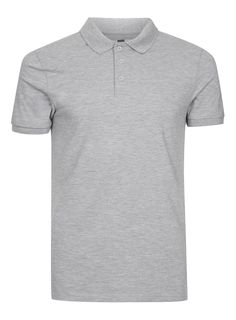 Gray Muscle Fit Polo Shirt - T-shirts & Tanks - Clothing - TOPMAN USA