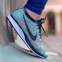 """Another Look at the Nike Flyknit Racer """"Multicolor"""" Nike Flyknit Racer Rainbow, Flyknit Racer Multicolor, Summer Sneakers, Sneakers Nike, Sneakers Fashion, Fashion Shoes, Mens Fashion, Nike Air Max Mens, Shoe Sites"""