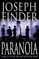"""""""Paranoia"""" by Joseph Finder """"Fired from his telecom job, Adam Cassidy is forced by company CEO Nicolas Wyatt to infiltrate Wyatt's longtime rival's company to steal trade secrets. Soon, Adam realizes that he's caught between two ruthless players who will stop at nothing to win. But, desperate to win over an Ivy League beauty (Amber Heard) and help his blue-collar father, Adam risks everything in a dangerous race against time."""""""