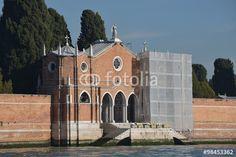 Auf dem Friedhof von Venedig
