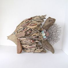 Hey, I found this really awesome Etsy listing at https://www.etsy.com/listing/168916923/driftwood-art-sculpture-fish-angelfish