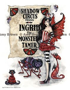 Amy Brown: Fairy Art - The Official Gallery - The Monster Tamer Amy Brown Fairies, Elves And Fairies, Dark Fairies, Fantasy Fairies, Elves Fantasy, Science Fiction, Creepy, Scary, Fairy Pictures