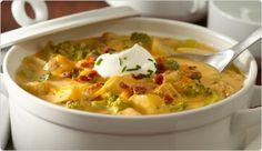 Loaded Roasted Potato Soup