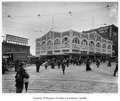 Pike Market, Seattle, 1912