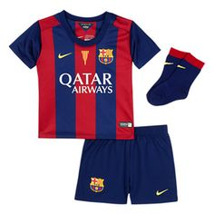 Nike Infant Barcelona Soccer Jersey Mini Kit (Home) Barcelona Shirt 0c61289e1