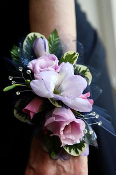 Bring out your inner Princess, floral jewelry is super hot this Prom Season!  We can replicate your favorite designs and match your corsage to your dress.  Find us at www.flowersofcharlotte.com