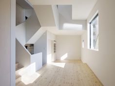 interior of house in japan - love the open and natural light