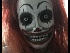 Scary Clown Makeup!
