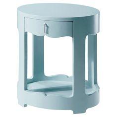 blue night stand