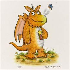 Zog by Axel Scheffler - this is why I love what I do!