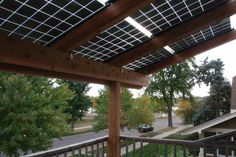 1-solar pergola using silicon energy panels st paul mn dream big with Powerfully Green