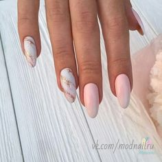 Pink nails w/sparkle manicura, unghie in acrilico, chiodi unghie natalizie Hair And Nails, My Nails, Nailed It, Manicure Y Pedicure, Dream Nails, Marble Nails, Cute Acrylic Nails, Stylish Nails, Nude Nails