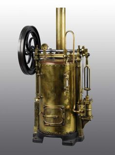 Radiguet Vertical Steam Engine Toy