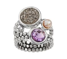 This ring is so beautiful. I love the drusy quartz. Everything Michael Dawkins does is top of the line.