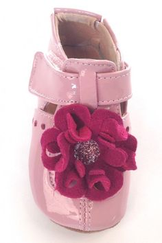 Livie & Luca Baby Blossom Pink Leather