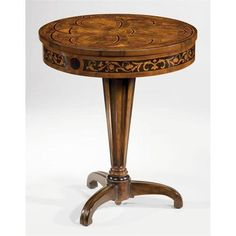 Selecting Best Round Decorator Table Easy In 2020 Wood Table