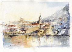 Dubrovnik, painting