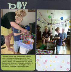 birthday boy page 2 - Scrapjazz.com