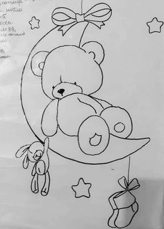 Baby Art Crafts, Arts And Crafts, Paper Quilling Designs, Baby Kind, Embroidery Art, Baby Quilts, Wall Decals, Coloring Pages, Stencils
