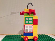 Double decker bus by Little Kun. Photo by Little Kun. Double Decker Bus, Lego Duplo, Table Lamp, Activities, Toys, Baby, Home Decor, Lego Duplo Table, Activity Toys