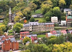 Harpers Ferry National Historical Park in Harpers Ferry West Virginia
