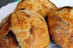 Wandering Bread: Sourdough Bread Bowls with Chicken Corn Chowder