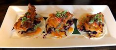 Crispy Mahi Mahi is served at Mesa, a modern Mexican restaurant in Easton.