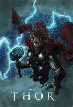 Thor Marvel Comics | To Whoever Holds This Hammer Shall Possess The Power Of Thor ...