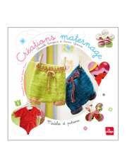 Créations maternage, modèles et patrons de Sandra Guernier et Christelle Beneytout — 20,50€ — Éditions La Plage