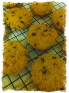 #Vegan Coconut Chocolate Chip Cookies