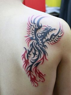 40 Amazing Phoenix Tattoo Meanings and Designs - Mysterious Bird