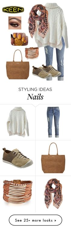 """""""So Fresh and So Keen: Contest Entry"""" by teelj on Polyvore featuring Keen Footwear, Humble Chic, Dorothy Perkins, OPI and keen"""