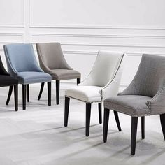 The @worldofeichholtz Bermuda chair -classic design in a choice of colours new to #uberinteriors #dining #chair #luxury #interiordesign #eichholtz #diningchair #luxurychair