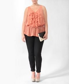 Me Want That Top!!! Plus Size Clothing, fashion, trendy plus size clothes   Forever 21 - 2000045360