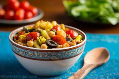 Tunisian-Inspired Chickpea and Potato Salad